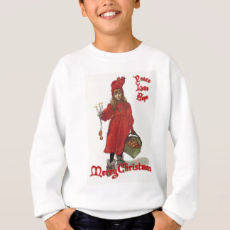Peace, Love and Hope at Christmas Sweatshirt