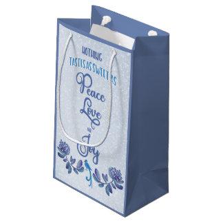 Peace Love and Joy Christmas Gift Bag