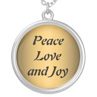 Peace Love and Joy Necklace