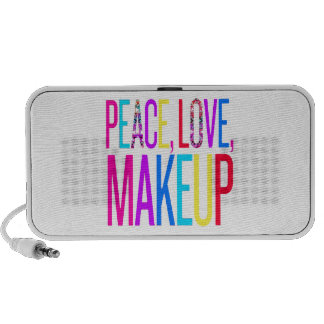 Peace, Love and Makeup Mp3 Speakers