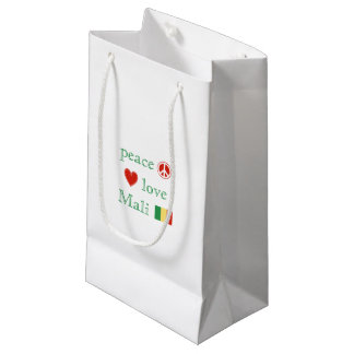 Peace Love and Mali Small Gift Bag