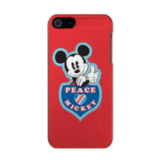 Peace Love and Mickey Incipio Feather® Shine iPhone 5 Case