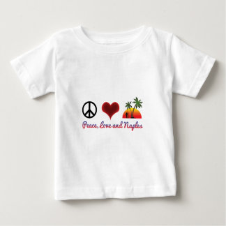 peace love and naples baby T-Shirt