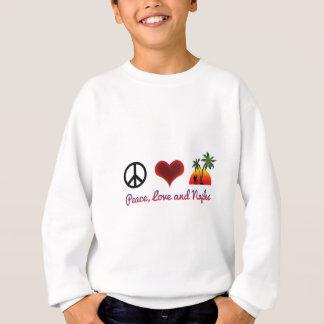 peace love and naples sweatshirt