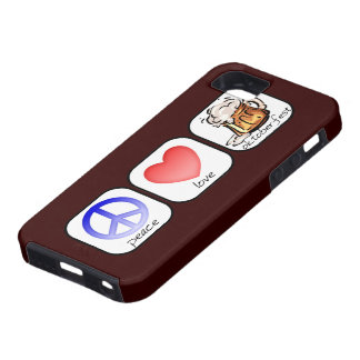 Peace, Love, and Oktoberfest iPhone 5 Cover