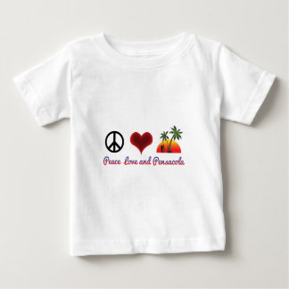 peace love and pensacola baby T-Shirt