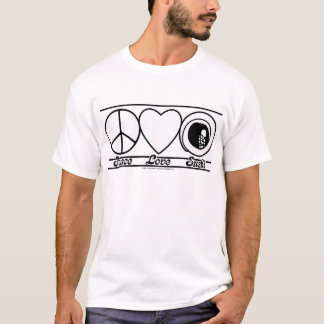 Peace Love and Sushi T-Shirt