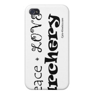 Peace Love Archery iPhone 4 Covers