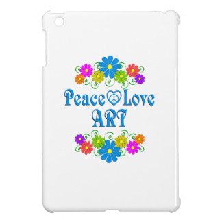 Peace Love Art Cover For The iPad Mini