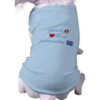 Peace Love Australia Shirt