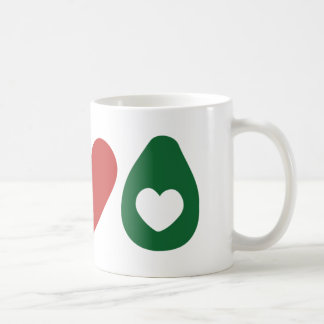 Peace, Love Avocado Mug
