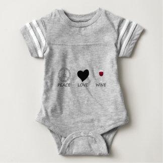 peace love baby bodysuit