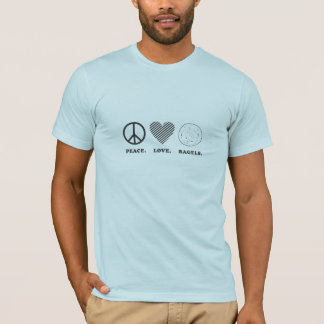 Peace. Love. Bagels. T-Shirt