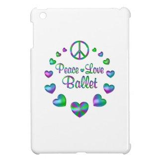 Peace Love Ballet iPad Mini Cases
