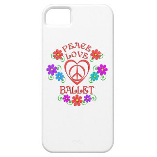 Peace Love Ballet iPhone 5 Cover