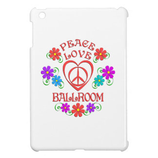 Peace Love Ballroom Case For The iPad Mini