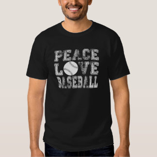 Peace, Love, Baseball Style 2 T Shirts