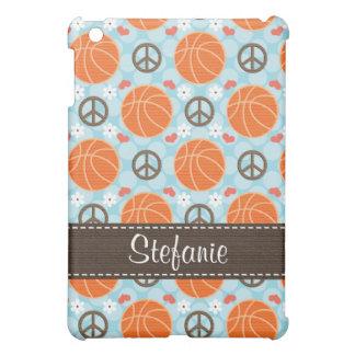 Peace Love Basketball  Case For The iPad Mini