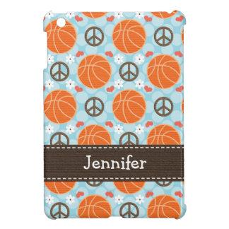 Peace Love Basketball Cover For The iPad Mini
