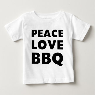 Peace Love BBQ Baby T-Shirt