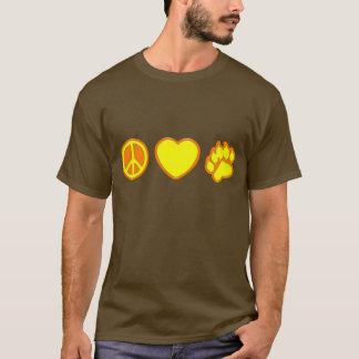 Peace Love Bear T-Shirt