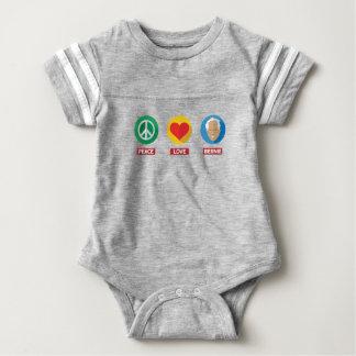 Peace Love Bernie Baby Bodysuit