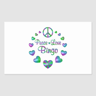 Peace Love Bingo