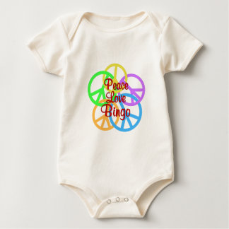 Peace Love Bingo Baby Bodysuit