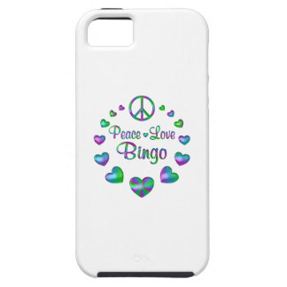 Peace Love Bingo Case For The iPhone 5