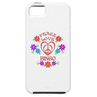Peace Love Bingo iPhone 5 Cover