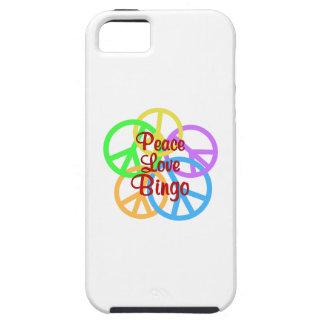 Peace Love Bingo iPhone 5 Covers