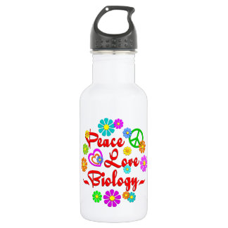 Peace Love Biology 532 Ml Water Bottle