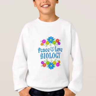 Peace Love Biology Sweatshirt