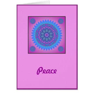 Peace & Love Birthday Card