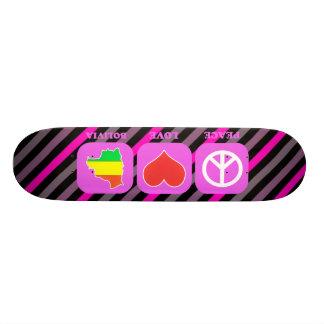 Peace Love Bolivia Skate Board Deck