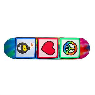 Peace, Love, Bombs Skateboards
