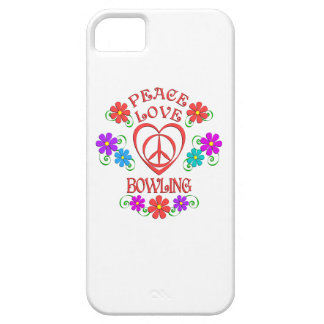 Peace Love Bowling Case For The iPhone 5