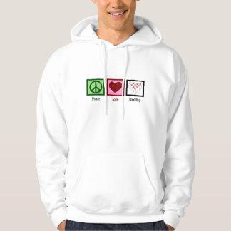 Peace Love Bowling League Hoodie
