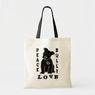 Peace Love Bully 2.0 Tote Bag