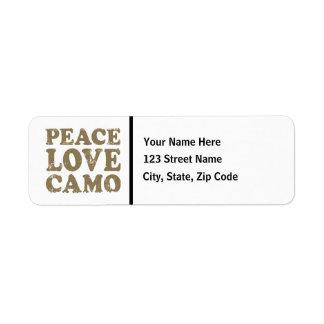 Peace Love Camo