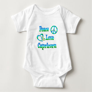 Peace Love Capricorn Baby Bodysuit