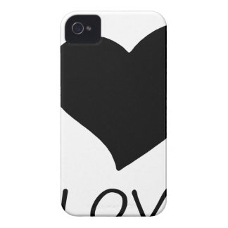 peace love Case-Mate iPhone 4 case