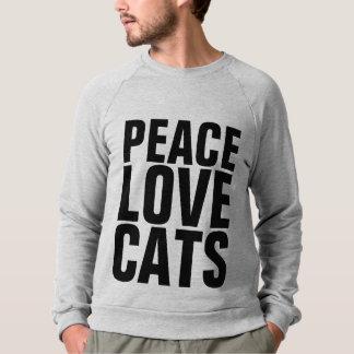 PEACE LOVE CATS, Cat t-shirts