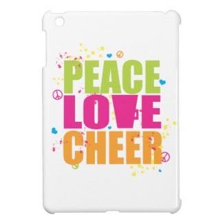 Peace, Love, Cheer iPad Mini Case