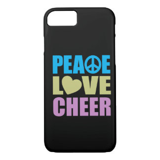 Peace Love Cheer iPhone 7 Case