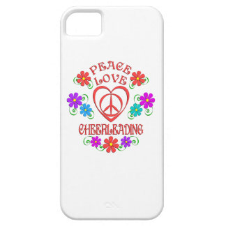 Peace Love Cheerleading Case For The iPhone 5