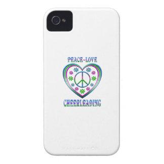 Peace Love Cheerleading Case-Mate iPhone 4 Case