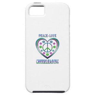 Peace Love Cheerleading iPhone 5 Cover
