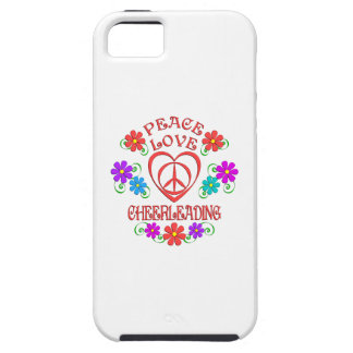 Peace Love Cheerleading iPhone 5 Covers