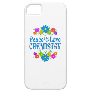 Peace Love Chemistry iPhone 5 Covers